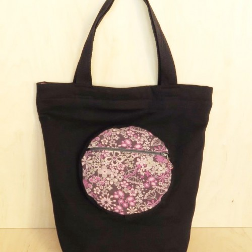 duża torba z różowymi kwiatkami