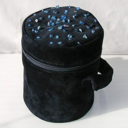 Jedyna i niepowtarzalna torebka, własny projekt i wykonanie, wyszywana szklanymi koralikami