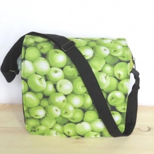 duża torba na ramię. Handmade.