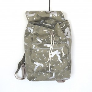 Plecak modny oryginalny materiał moro