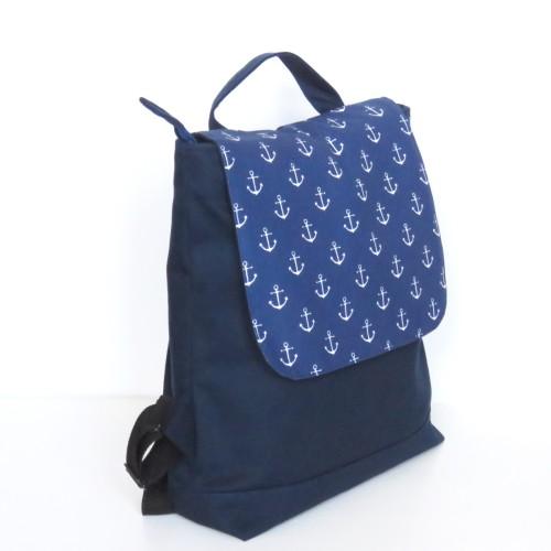 plecaczek z tkaniny