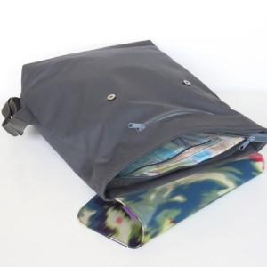 plecaczek z materiału